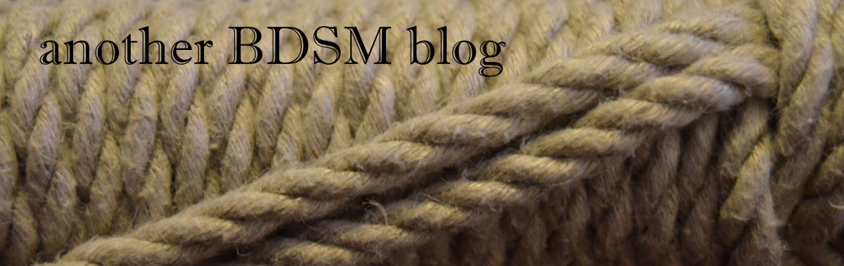 another BDSM blog